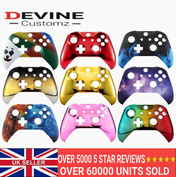 For Xbox One S X Controller Front Shell Custom Designs Flame Galaxy Lightning GBP 14.95