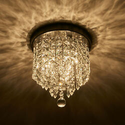 Modern 3 Light Crystal Chandelier Light Ceiling Lamp Pendant Fixture. $23.49