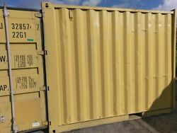 10' Storage Shipping Container Custom Built He ShedShe Shed Bakersfield Ca.