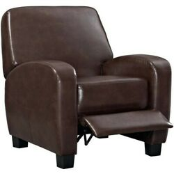 Home Theater Recliner Brown Great for Man Cave Living Room or She Shed Furniture