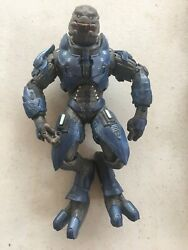 Halo Reach Blue Elite Officer Action Figure TMP McFarlane Microsoft 2010