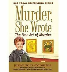 Murder She Wrote-the Fine Art of Murder (Large Print)-ExLibrary