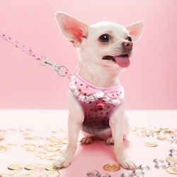 Extra Small Dog Harness Soft Vest Leash Pet Kitty Collar for chihuahua yorkie $9.99