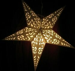 24quot; Heavenly Paper Star Hanging Lantern Lamp Light Cord NOT Included #16 $14.71