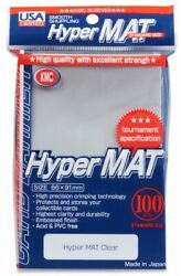 Hyper Mat Sleeves 100ct Clear KMC GAMING SUPPLY BRAND NEW ABUGames $10.99