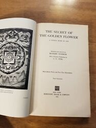 1935 THE SECRET OF THE GOLDEN FLOWER A CHINESE BOOK OF LIFE RICHARD WILHELM
