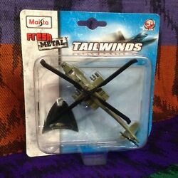 Maisto Tailwinds AH 64 Apache Helicopter Fresh Metal Die Cast New $17.99
