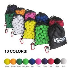 JAM FREE Accurate Ammo Balls for Nerf Rival Guns - 120 Pcs - 10 Colors Avail