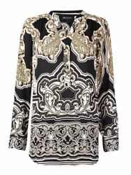 INC International Concepts Women's Printed Tunic Top (2 Secret Garden)