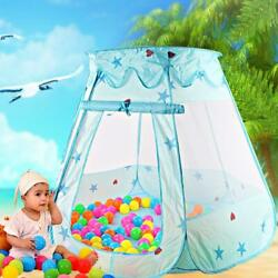Portable Playhouse Baby Kids Play Toy Tent Ocean Ball Pit Pool Indoor Outdoor US