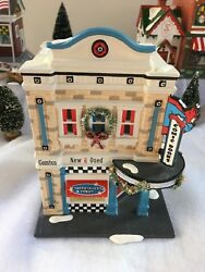 American Hero Comics Rare Limited Numbered Edition 5600 Dept 56 Snow Village