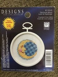 Patchwork Moon Cross Stitch Mini Kit from Designs for the Needle $2.85