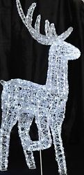 65quot; Reindeer LED Deer Lighted Commercial Christmas Decoration
