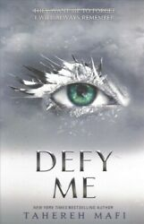 Defy Me Paperback by Mafi Tahereh Like New Used Free shipping in the US