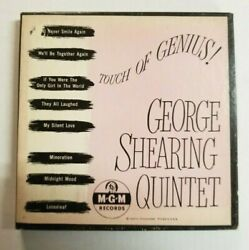 The George Shearing Quintet–Touch Of Genius-4 × Vinyl 7