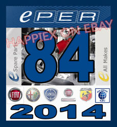 Eper 84 Fiat Lancia Alfa Romeo Abarth Carsvans Epc Parts Catalogue