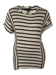 INC International Concepts Women's Striped Top