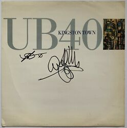UB40 HAND SIGNED KINGSTON TOWN 12