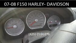 2007-2008 Ford F150 Harley-Davidson Instrument Cluster Speedometer OE MPH *RARE!
