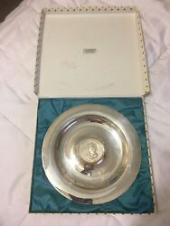 Silver Jubilee Tray With Coin 1952-1977 Sliver Plated with Box $67.50