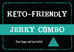 Keto Friendly Jerky Combo