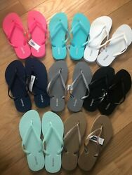 Old Navy Womens Flip Flops Assorted Colors & Sizes Brand New Sizes 678
