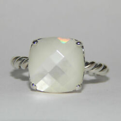 Pandora Ring Elegant Sincerity Mother of Pearl Multiple SZ 190828MP W Hinged Box