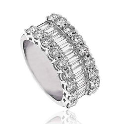 18ct White Gold Diamond Half Eternity Ring 1.50ct RRP £2795 Save Over £800