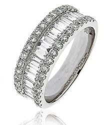 18ct White Gold Diamond Half Eternity Ring 1.50ct RRP £3595 Save Over £1300