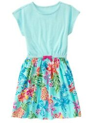 NWT Gymboree Mix N Match Girl Tropical Dress  56
