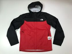 The North Face Men's Venture DryVent Waterproof Rain Jacket TNF Red NEW $99