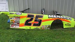 Brandon Jones Race Used Sheetmetal Menards Wall Art Man Cave She Shed Racing 25