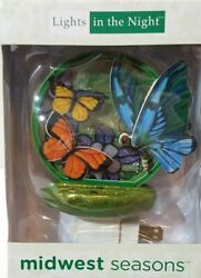 New in Box Night Light by Midwest Seasons CBK - BUTTERFLY - #MW-NL-140901