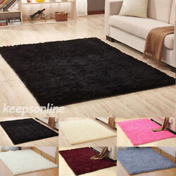 Shaggy Area Rugs Floor Carpet Living Room Bedroom Rugs Soft Large Rug Home Decor