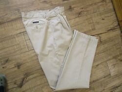 Chaps Khaki Pants - Size 32 x 34 - Pleated Front