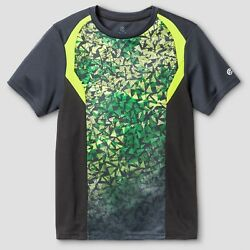 c9 Champion Boys Novelty Tech T shirt Green Charcoal $2.56