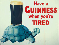 Guiness advertising vintage retro signs repro wall art GBP 3.00