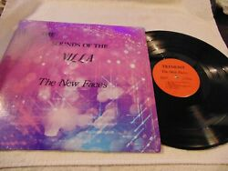 THE NEW FACES THE SOUNDS OF THE VILLA TREMONT 1970'S PRIVATE LOUNGE LP SHRINK EX