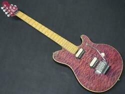 MUSIC MAN AXIS EX Translucent Purple from Japan