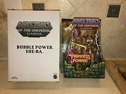 Masters Of The Universe Classics Bubble Power She-Ra Princess (MOC) With Mailer