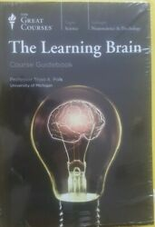 THE LEARNING BRAIN by THE GREAT COURSES Book +CDs