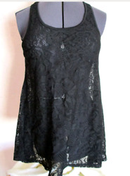 Women#x27;s Sexy Plus Size Lace Beach Cover Up $17.99