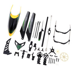 MagiDeal 18 in 1 Plane Body Accessories for V912 4CH Electric RC Helicopter $20.25
