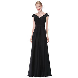 Ever Pretty US Evening Dress Long Prom Long Women V neck Formal Party Gown 08633 $19.99