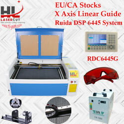 Auto Focus 100w 1060 Co2 laser engraving machine Ruida System & Linear Guide