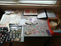 1000000s STAMPS COLLECTION LOT of 100 ALBUMS GLASSINES MINT SET Used WORLDWIDE
