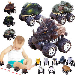 Mini Vehicle Animal Pull Back Car with Big Tire Wheel Creative Gift for Kids Lot $12.45