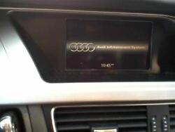 Info-GPS-TV Screen Display Concert Audio System Fits 09-16 AUDI A4 910792