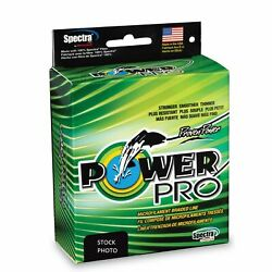 Power Pro Braided Line Original PowerPro [150300500yd Moss Hi-Vis Red]