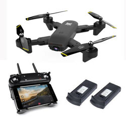 Cooligg Quadcopter Drone With HD Camera Selfie 2MP 720P WiFi FPV Foldable RC $65.99